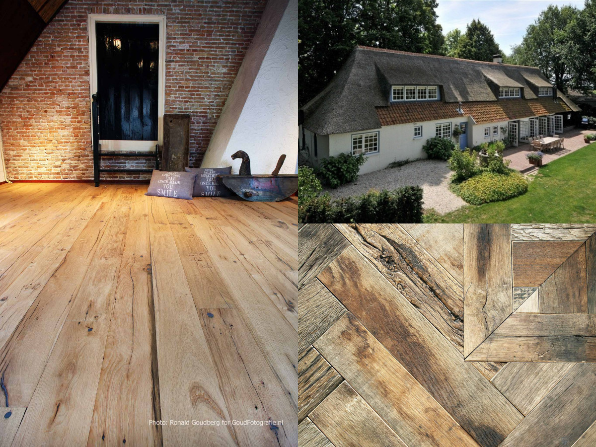 Heywood Old Reclaimed Oak Collection