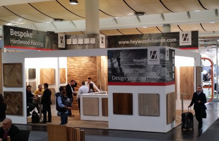 Domotex Hannover 2016 was a big success for Heywood.