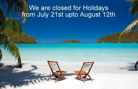 Heywood Closed for Summerholidays