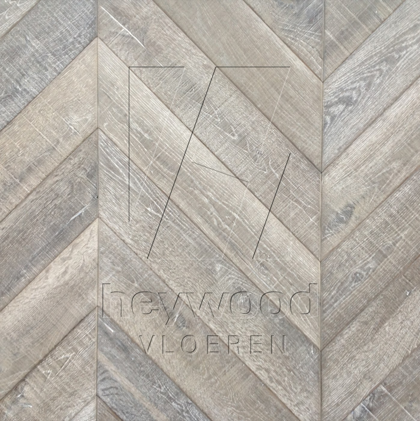 Bespoke RS Colour in Chevron of Pattern & Panel Floors