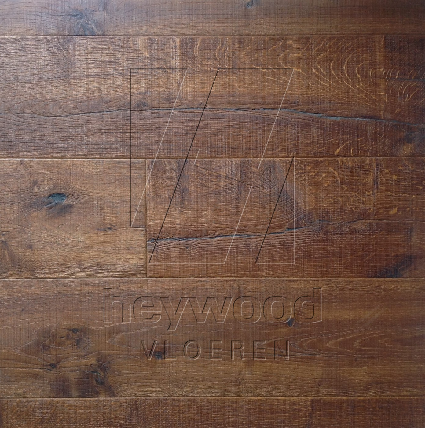 Donegal in Aged Knotting Hill Surface of Aged Hardwood Floors