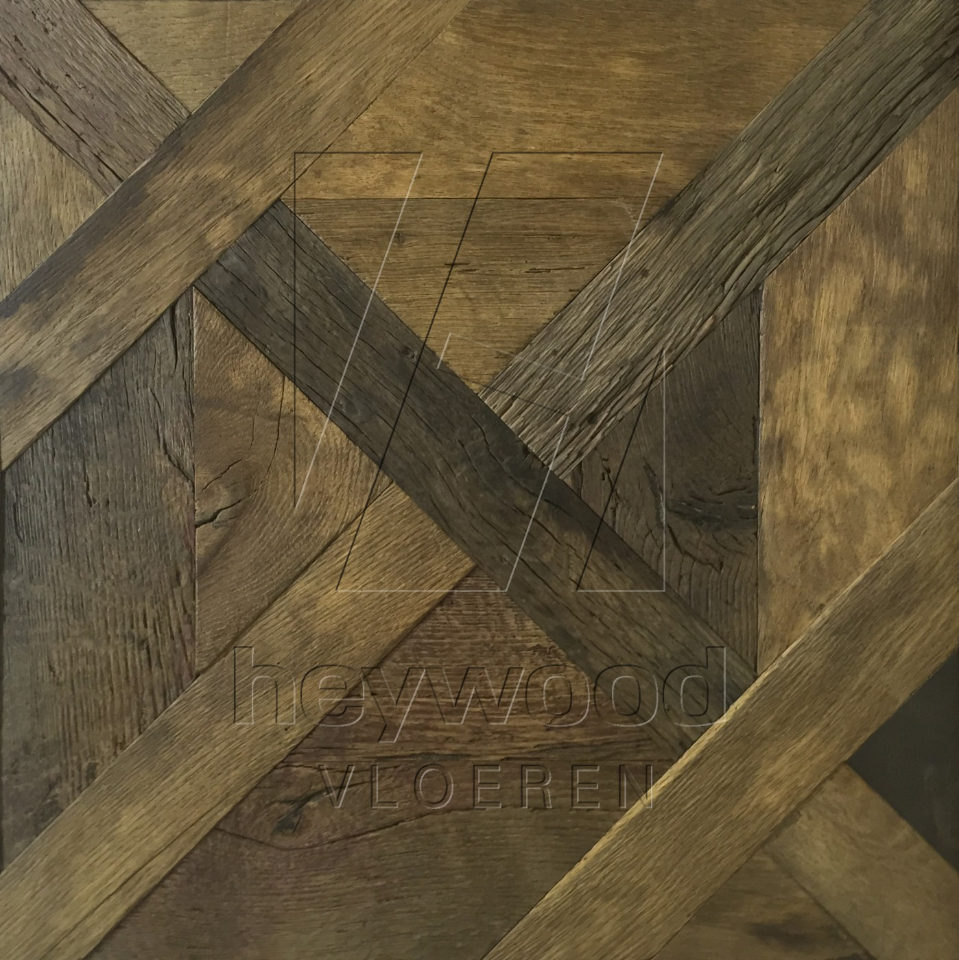 Cotswolds Louvre Panel Reclaimed Oak in Floor Panels & 3D Wall Panels of Pattern & Panel Floors