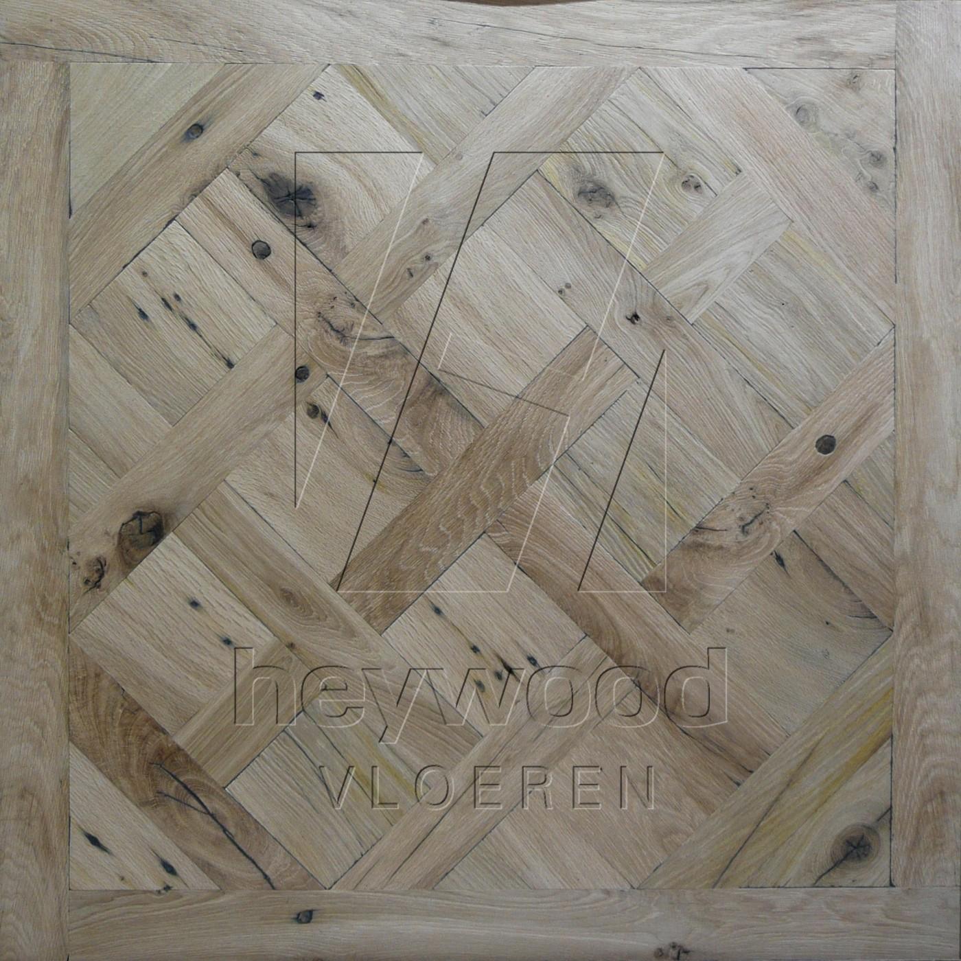Stellenbosch (unfinished) Reclaimed Oak in Floor & Wall Panels of Pattern & Panel Floors