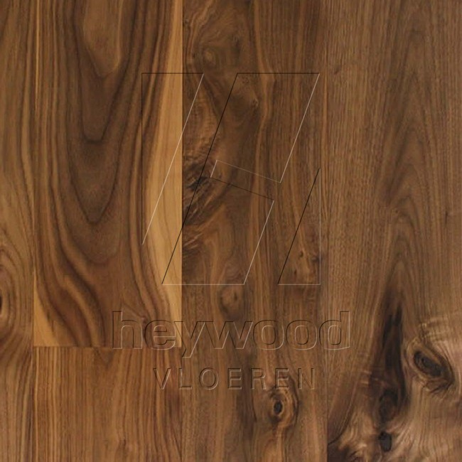 Rustic Walnut Lacquered in Other Wood Species of Bespoke Wooden Floors