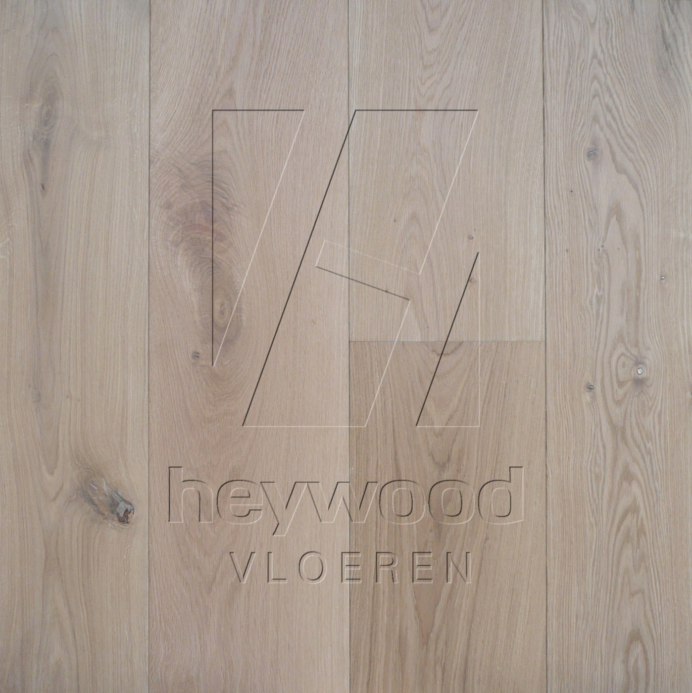 Virgin (invisible look) in European Oak Character of Bespoke Wooden Floors