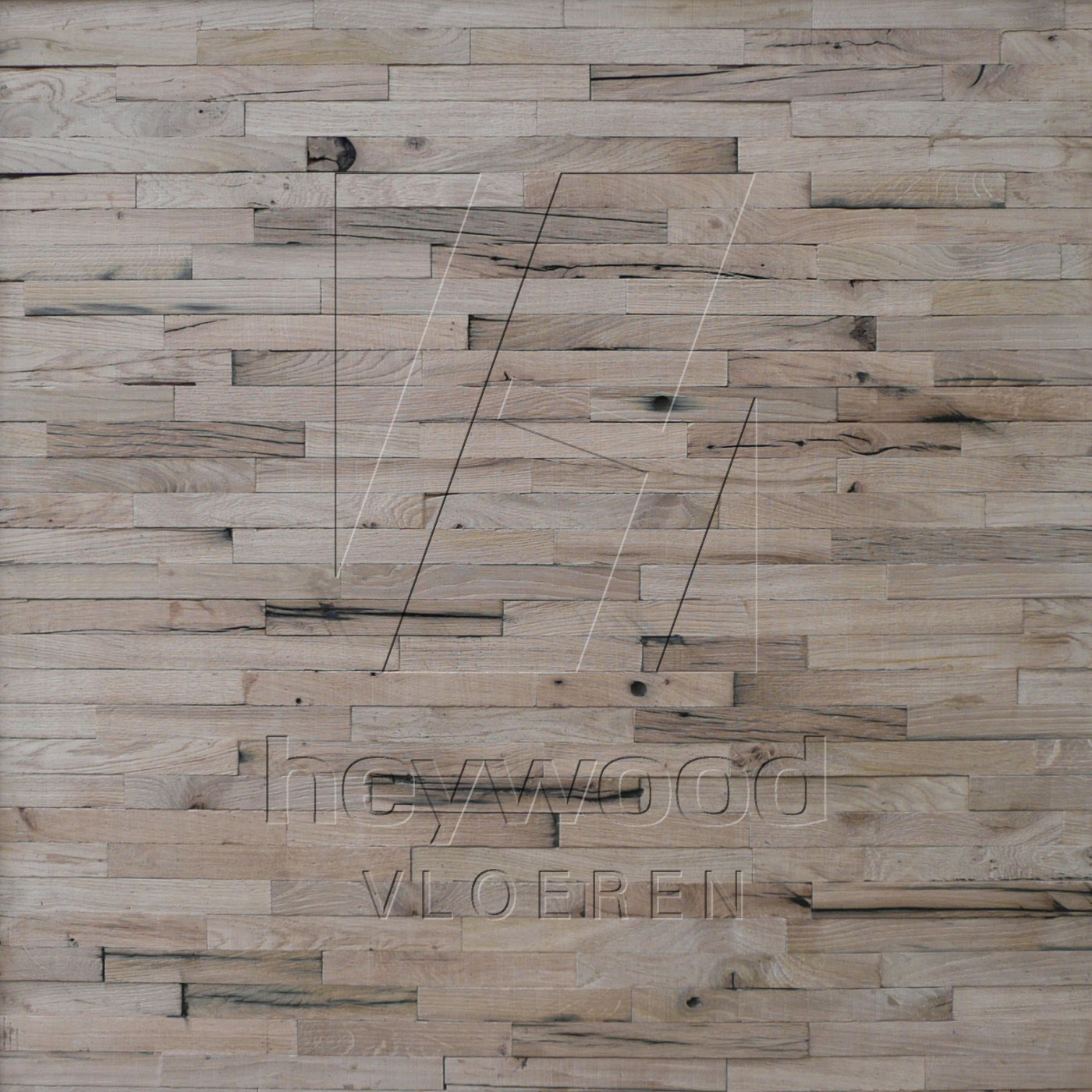 Stellenbosch 3D Wall Panel (unoiled) in Pattern & Panels (Outsides / Insides) of Old Reclaimed Wood