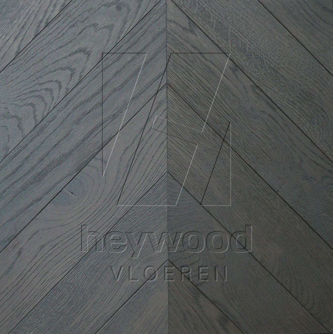 'Highlands coloured' Chevron 45°, Bespoke Character in Chevron of Pattern & Panel Floors