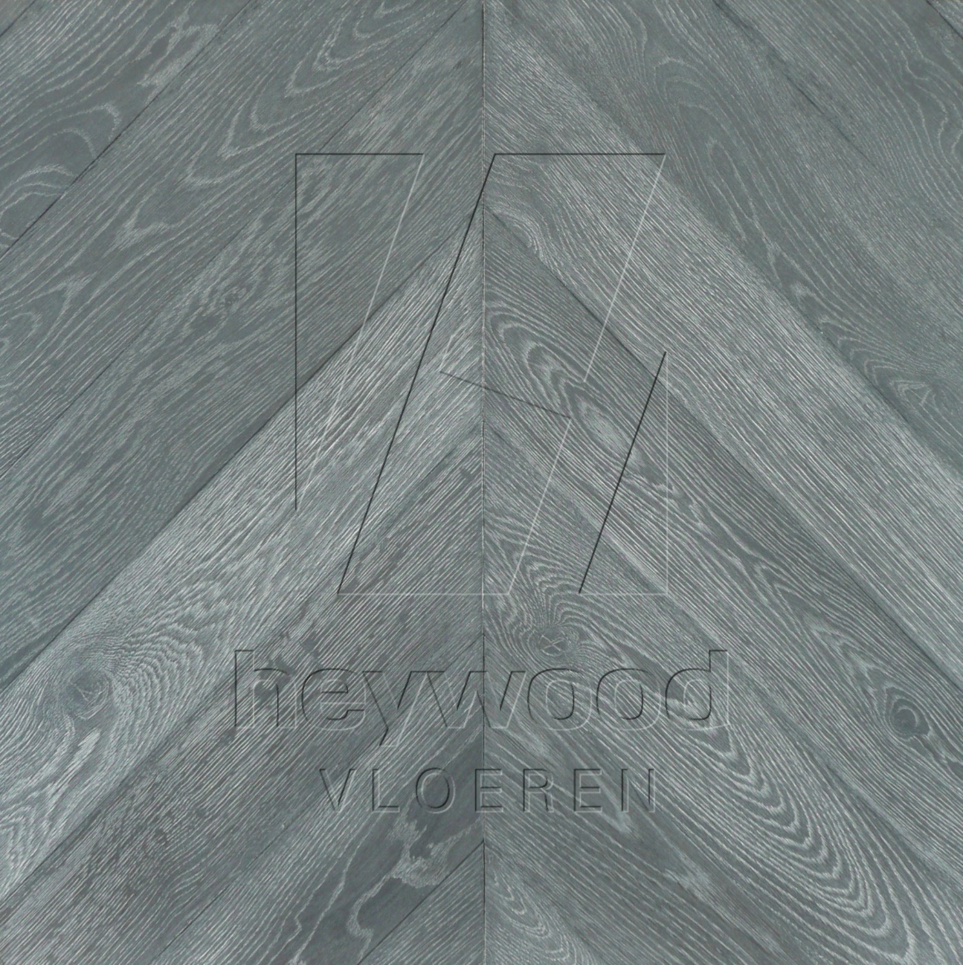 'Salamanca coloured' Chevron 45°, Bespoke Character in Chevron of Pattern & Panel Floors