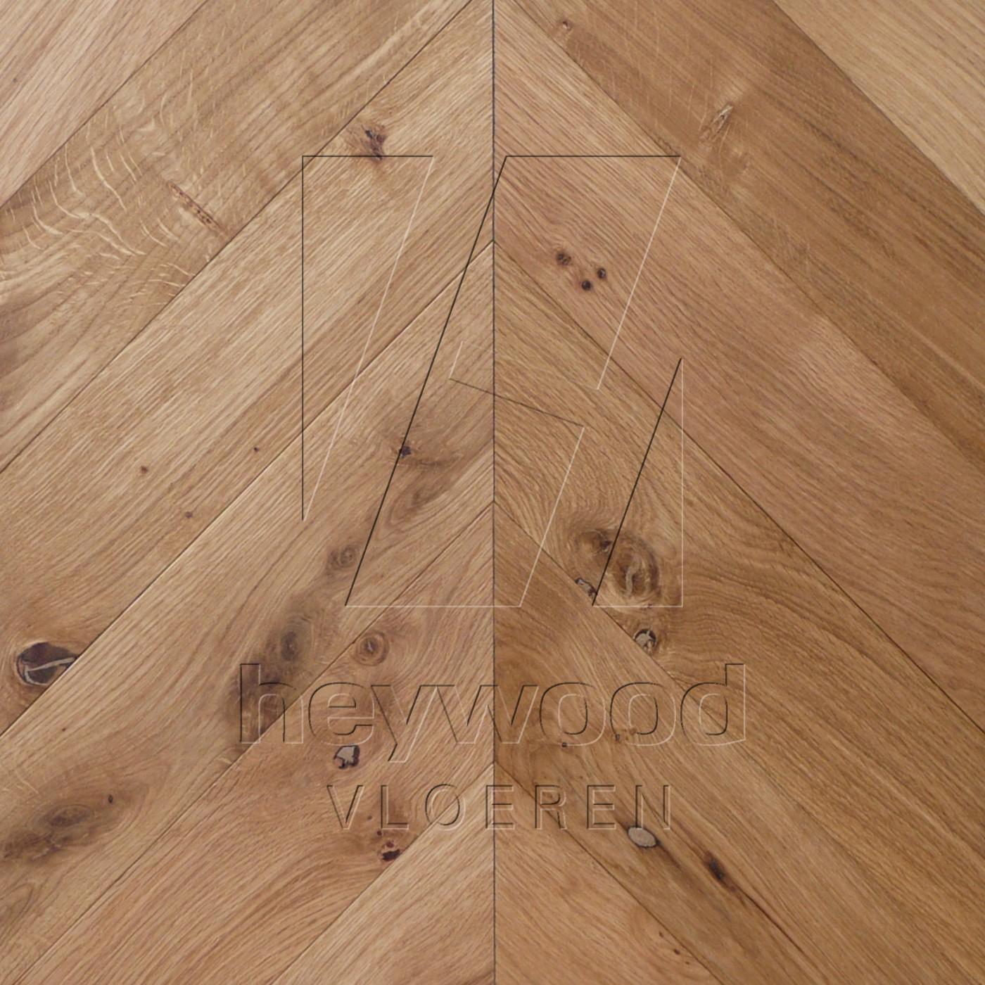 'Rhine Coloured' Chevron 45°, Bespoke Character in Chevron of Pattern & Panel Floors