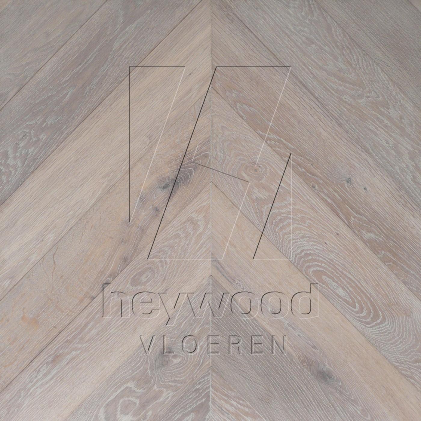 'Tundra Grey' Chevron 45°, Bespoke Character in Chevron of Pattern & Panel Floors