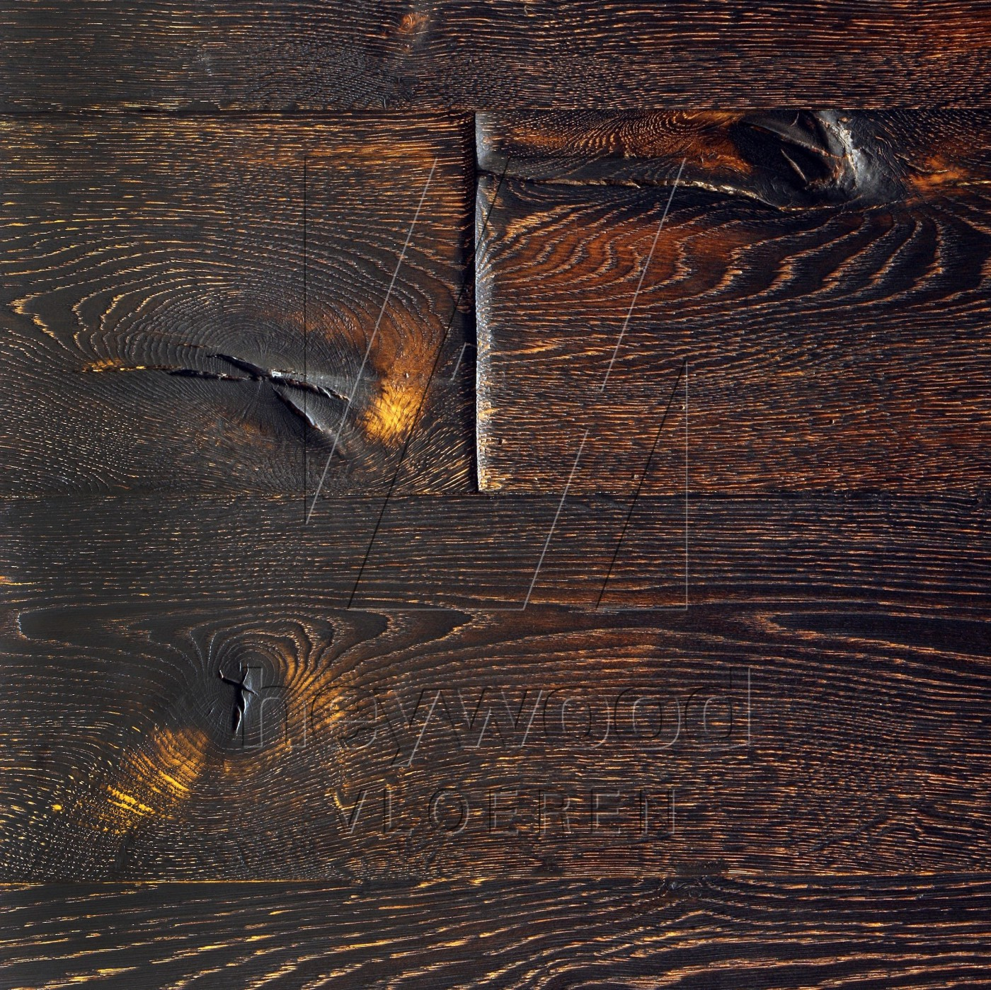 Denali in Aged Antique Surface of Aged Hardwood Floors