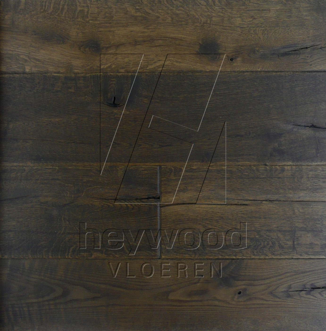 Black Mountains in Aged Antique Surface of Aged Hardwood Floors