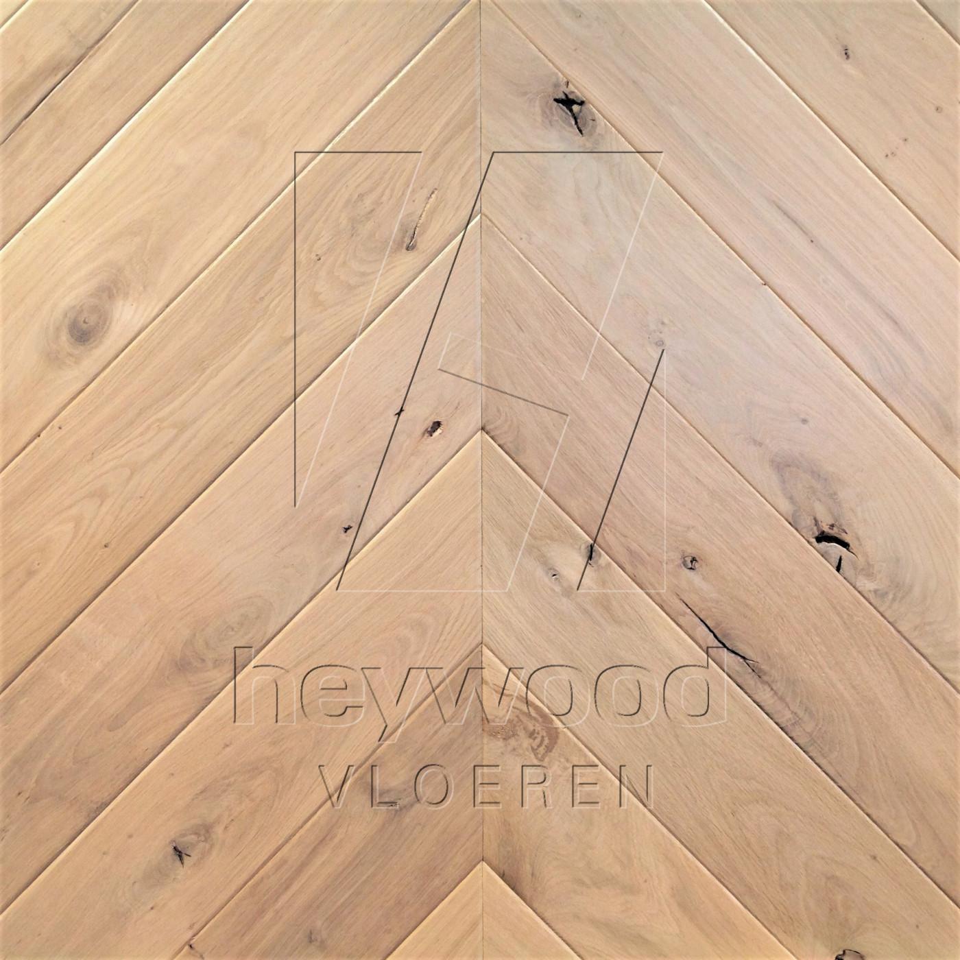 Antique Chevron 'Virgin Oiled' in Chevron of Pattern & Panel Floors