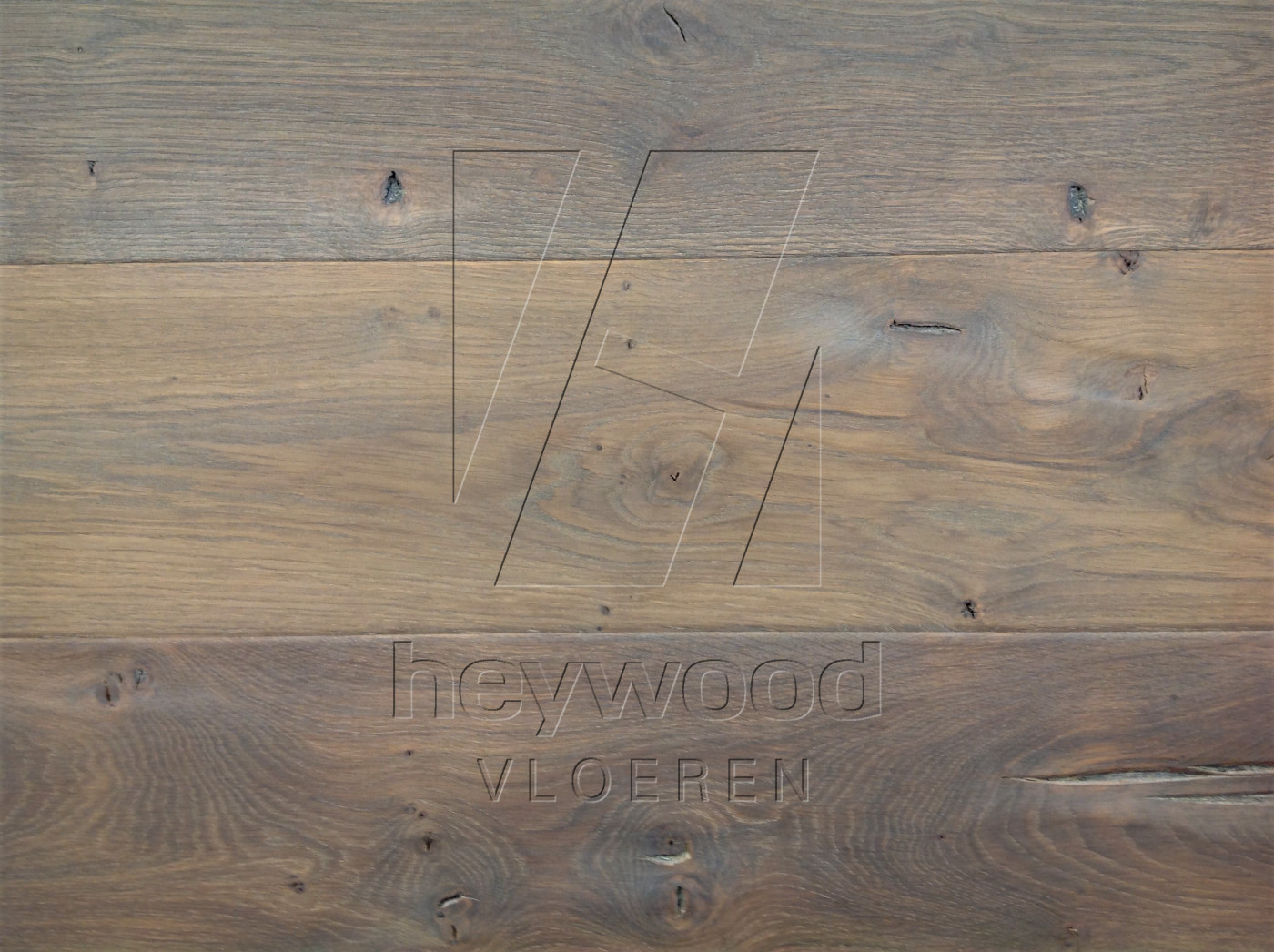 Antique Plank 'Guadalupe' in Aged Antique Surface of Aged Hardwood Floors