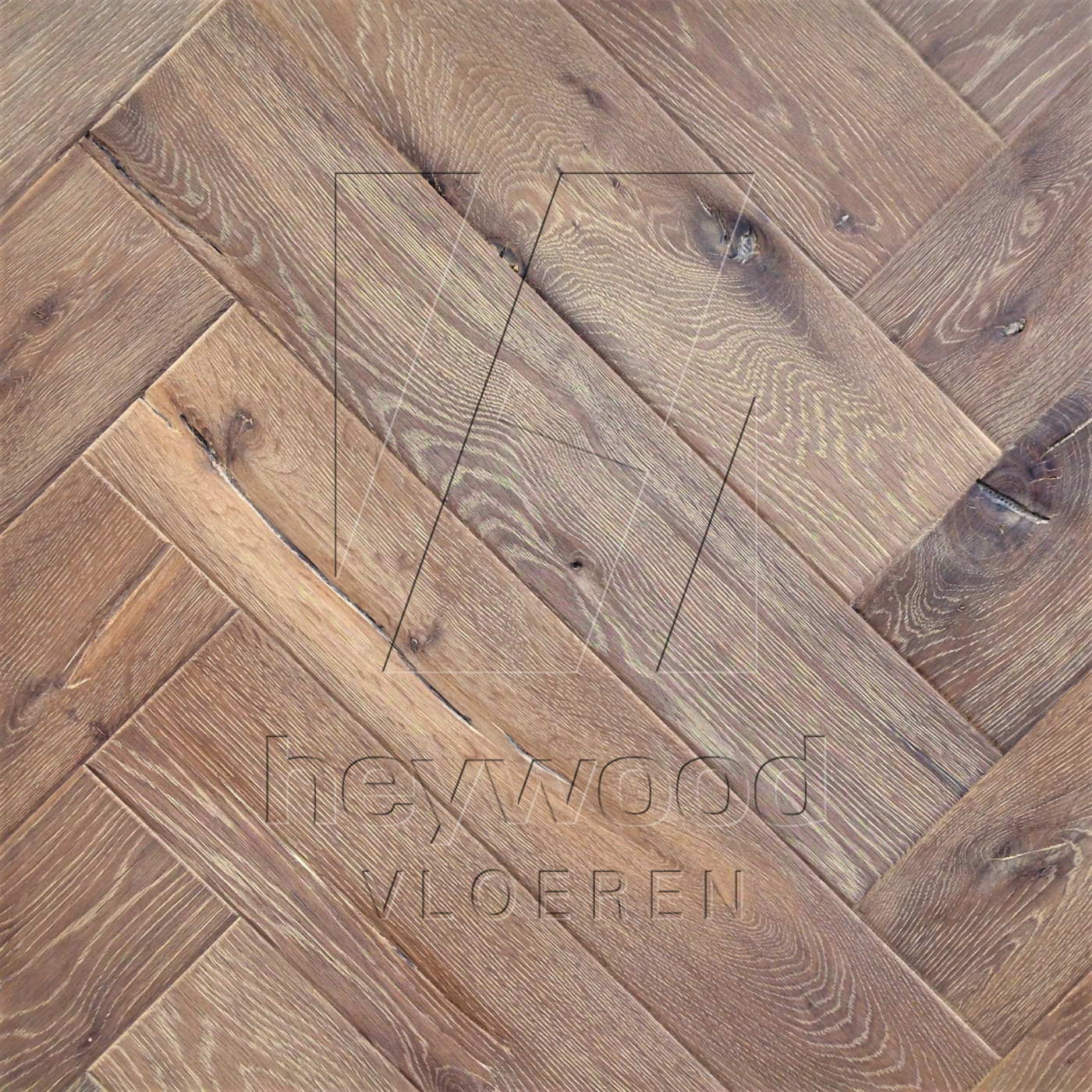 Antique Herringbone 'Cerro Torre' in Herringbone of Pattern & Panel Floors