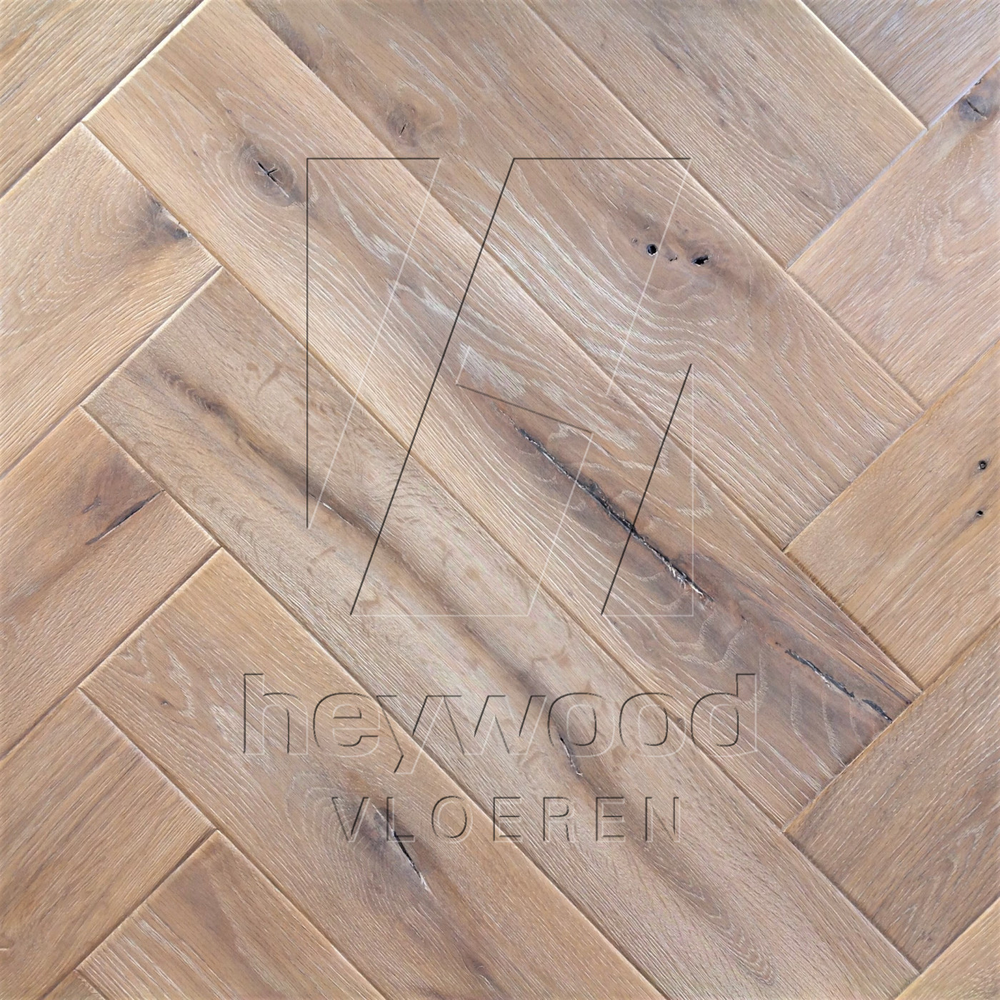 Antique Herringbone 'Mont Blanc' in Herringbone of Pattern & Panel Floors