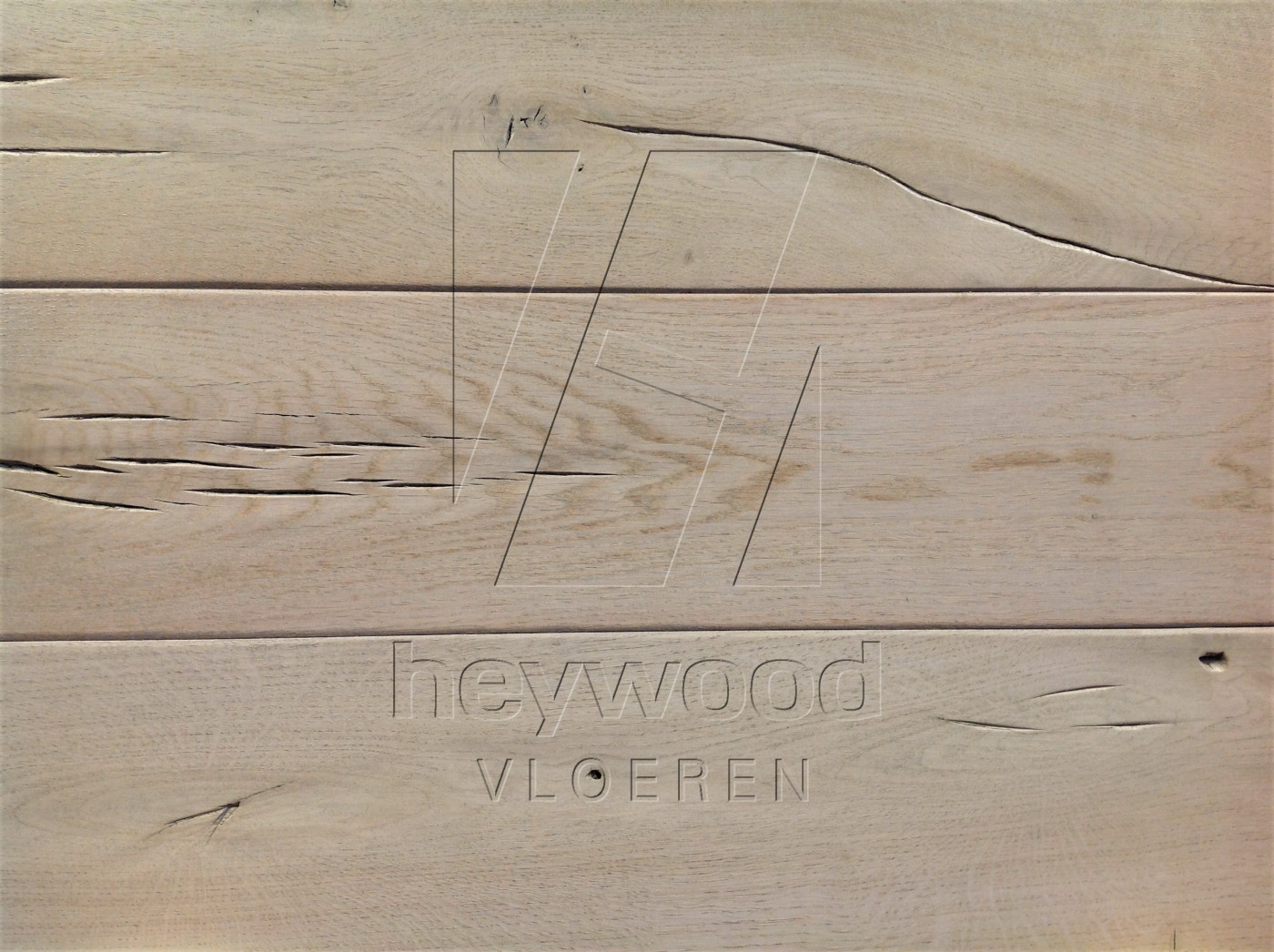 Antique Plank 'Lyngmark' in Aged Antique Surface of Aged Hardwood Floors