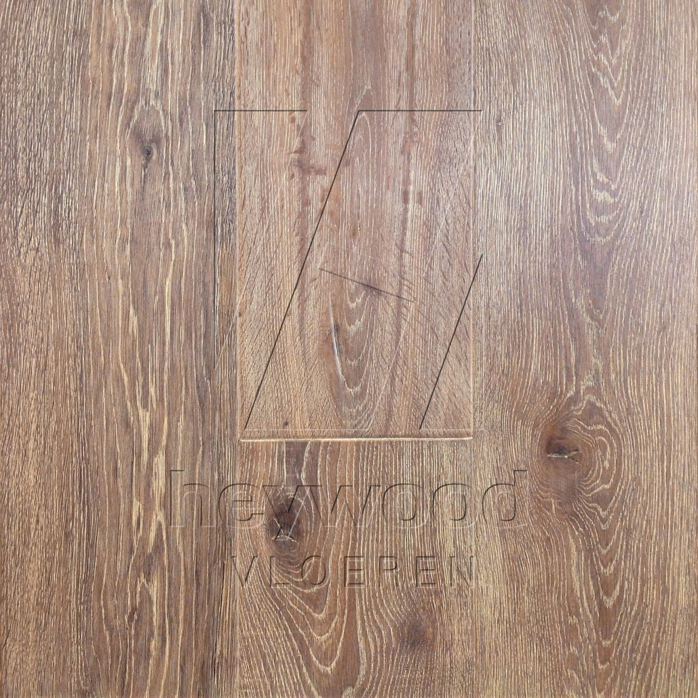 Antique Plank 'Cerro Torre' in Aged Antique Surface of Aged Hardwood Floors