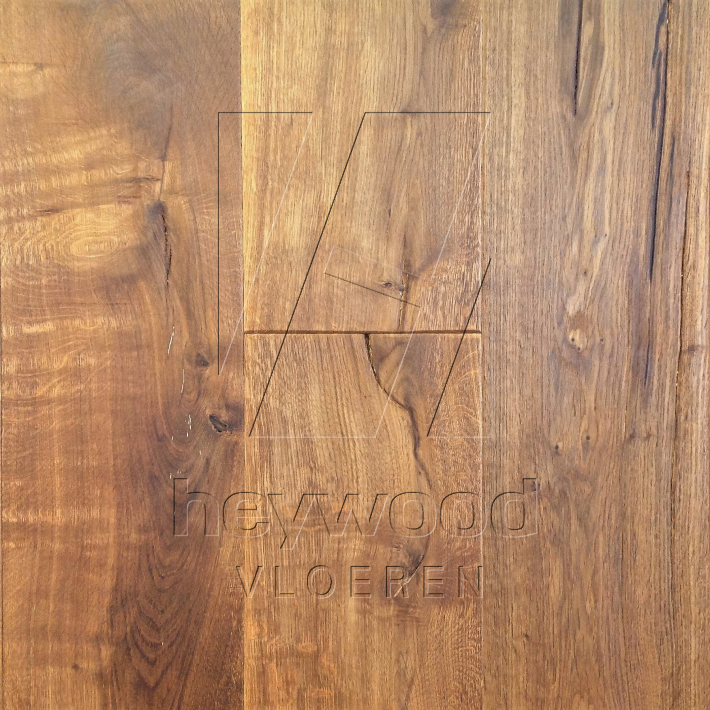 Antique Plank 'Kilimanjaro' in Aged Antique Surface of Aged Hardwood Floors