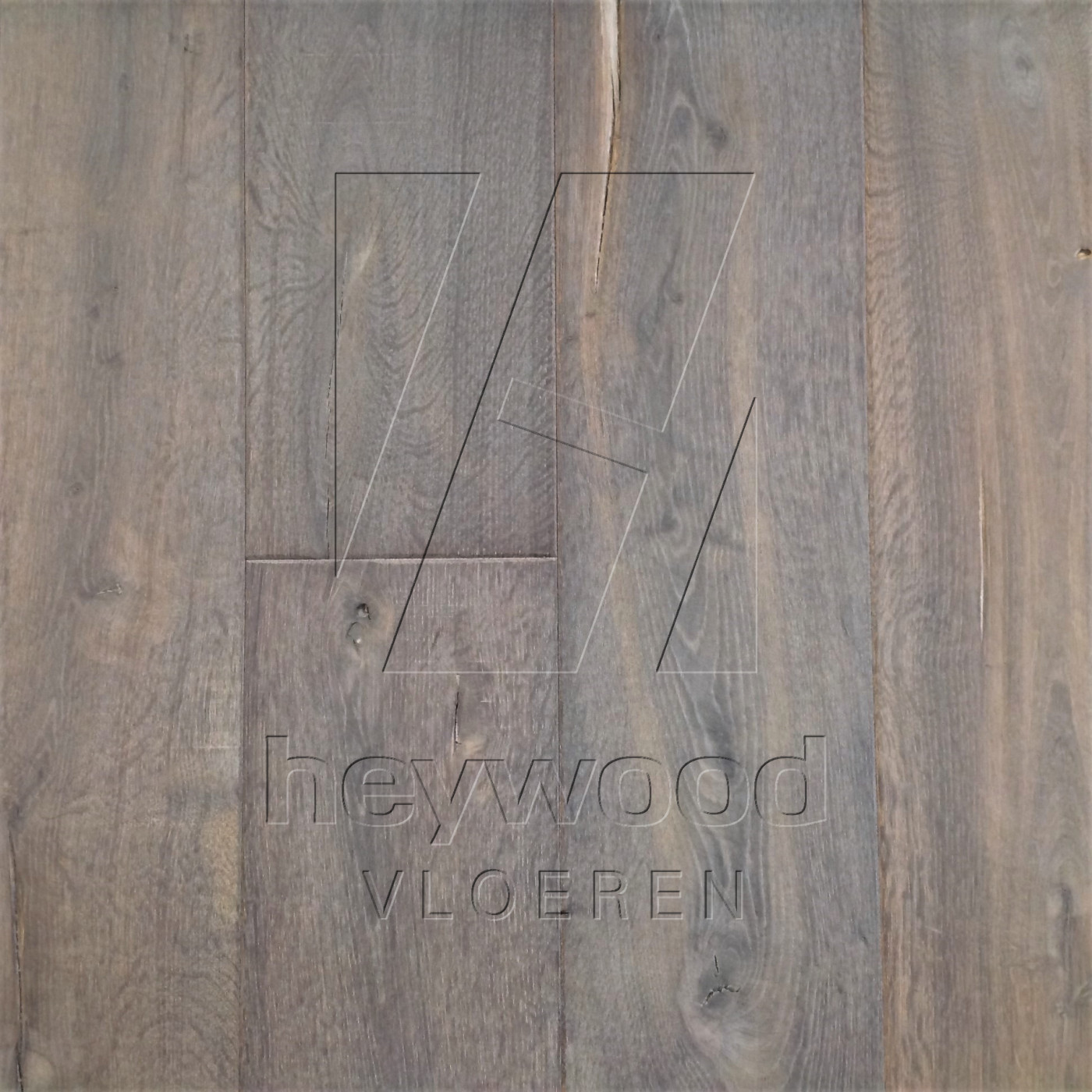 Antique Plank 'Gran Paradiso' in Aged Antique Surface of Aged Hardwood Floors