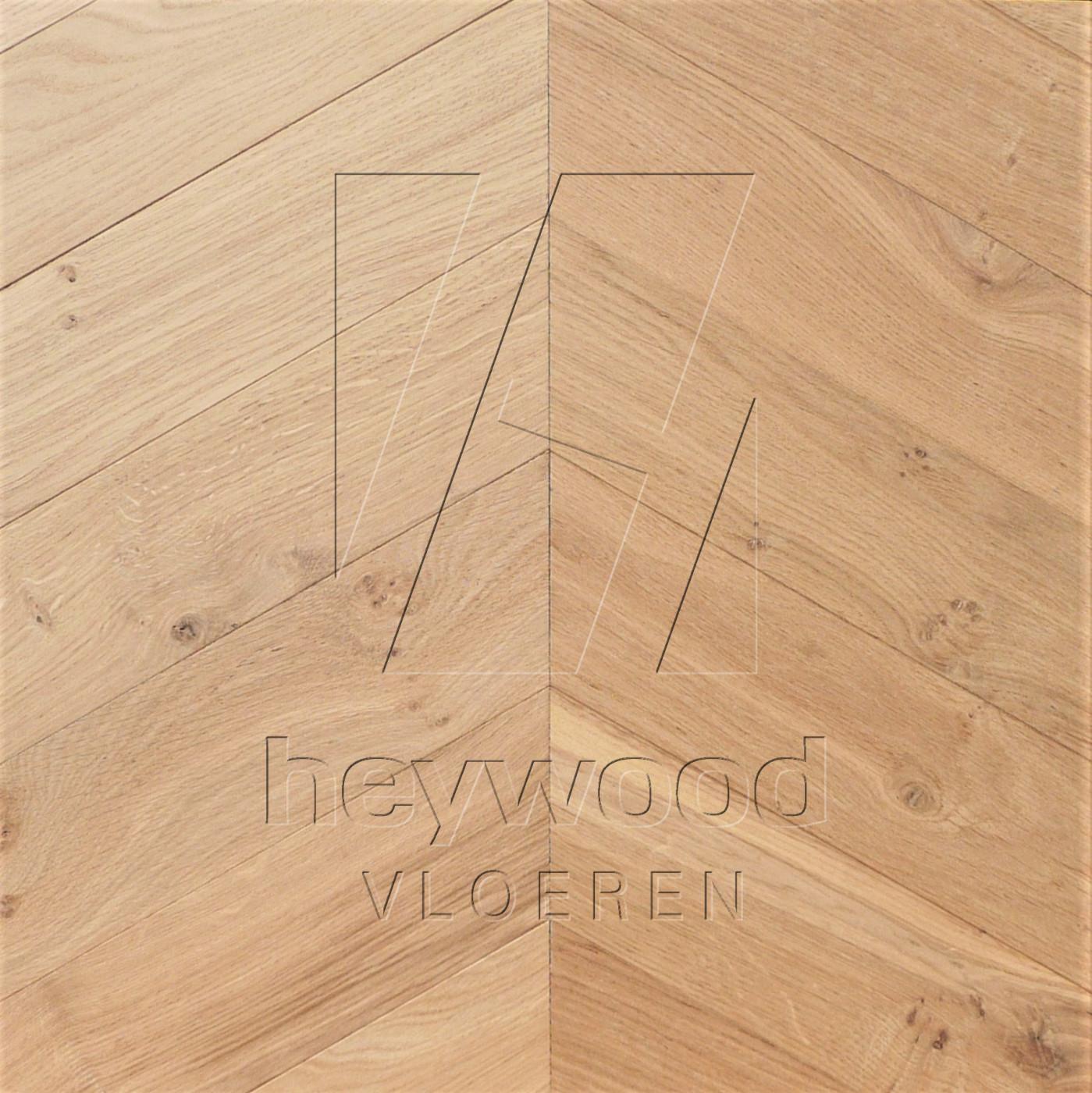 'Virgin Oiled' Chevron 60°, Bespoke Character in Chevron of Pattern & Panel Floors
