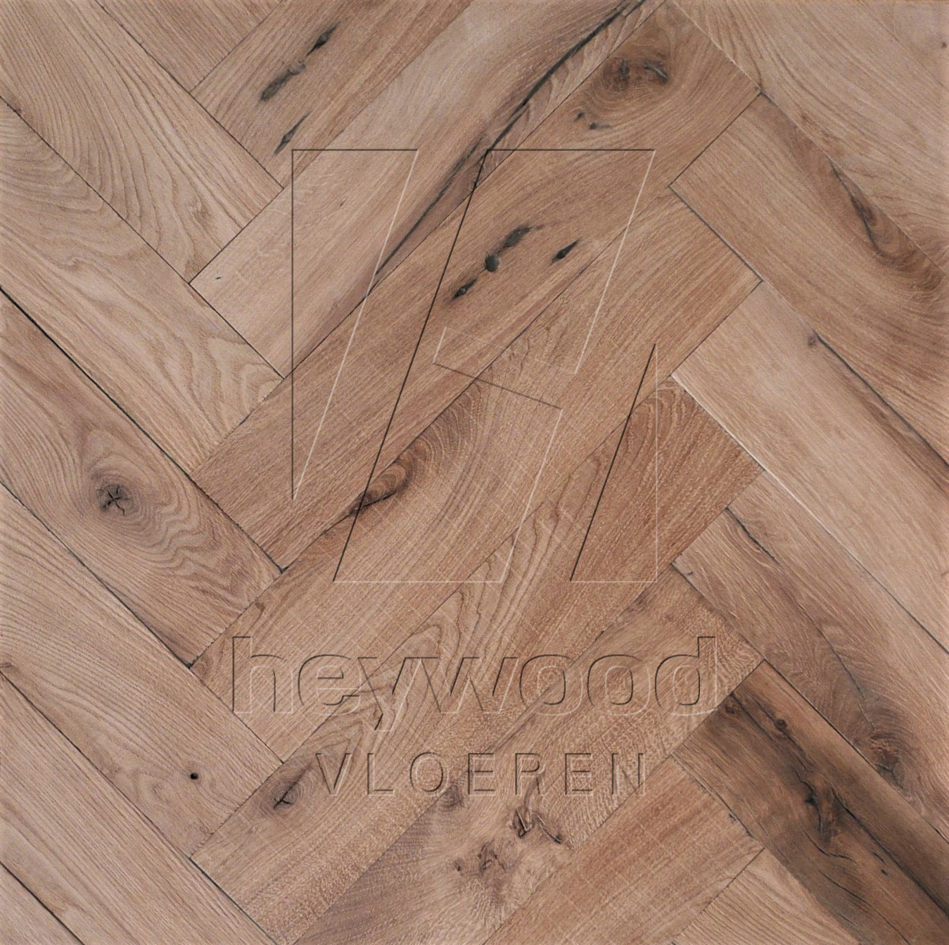 Reclaimed Herringbone 'Provence' (unoiled) in Pattern & Panels (Outsides / Insides) of Old Reclaimed Wood