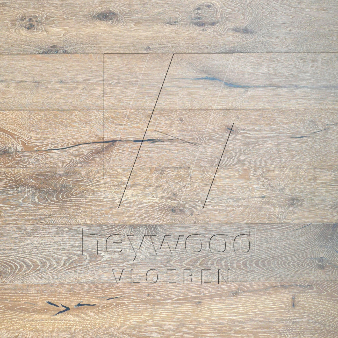 NLH/PSA 'Mocha' 10/3mm or 15/4mm (Facecracks + Endcracks allowed) in European Oak Character of Bespoke Wooden Floors