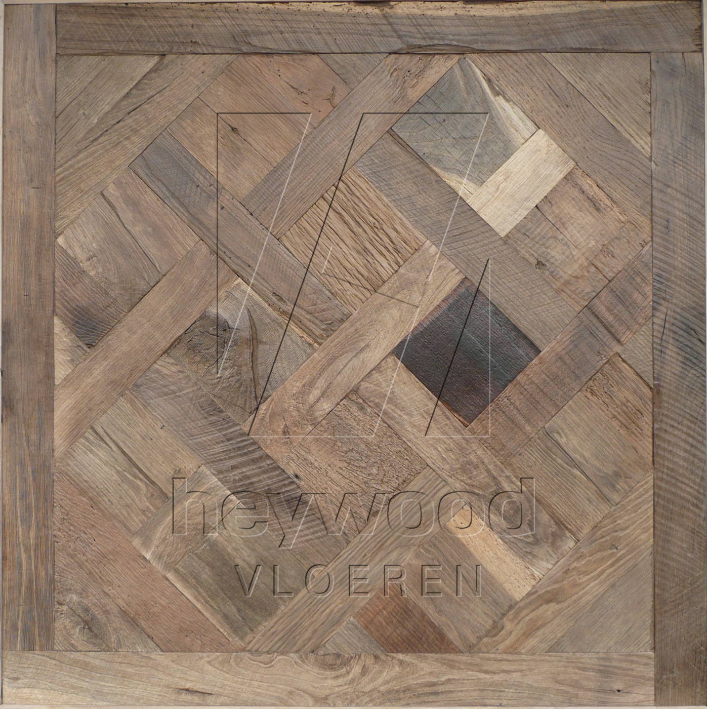 Cotswolds Reclaimed Oak in Floor Panels & 3D Wall Panels of Pattern & Panel Floors