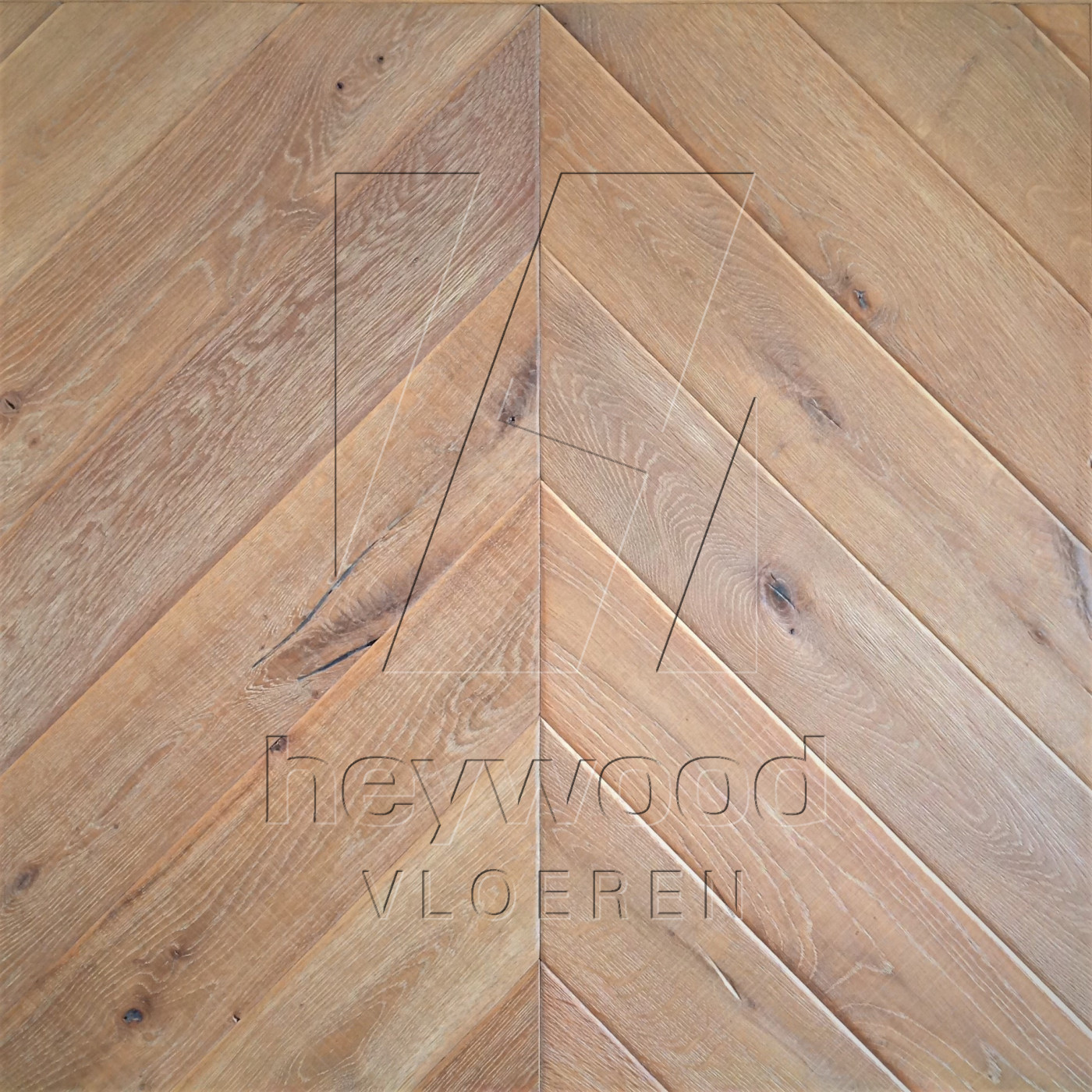 Knotting Hill Chevron 'Vanoise' in Chevron of Pattern & Panel Floors