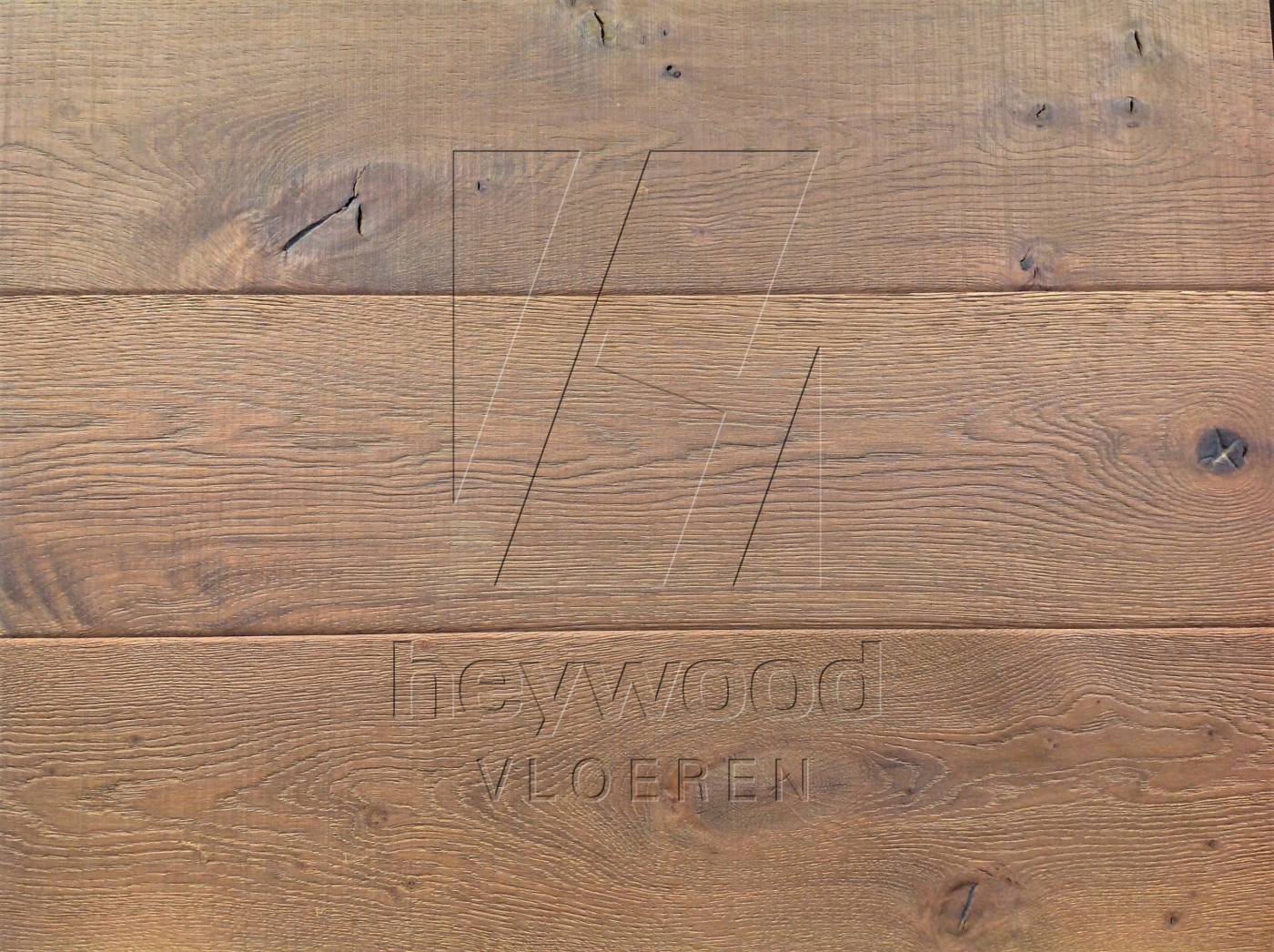 Knotting Hill Plank 'Outback' in Aged Knotting Hill Surface of Aged Hardwood Floors