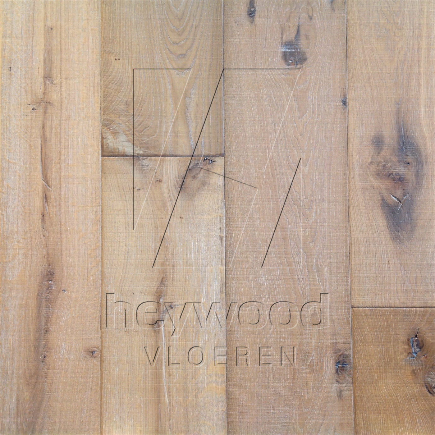 Knotting Hill Plank 'Beach' in Aged Knotting Hill Surface of Aged Hardwood Floors