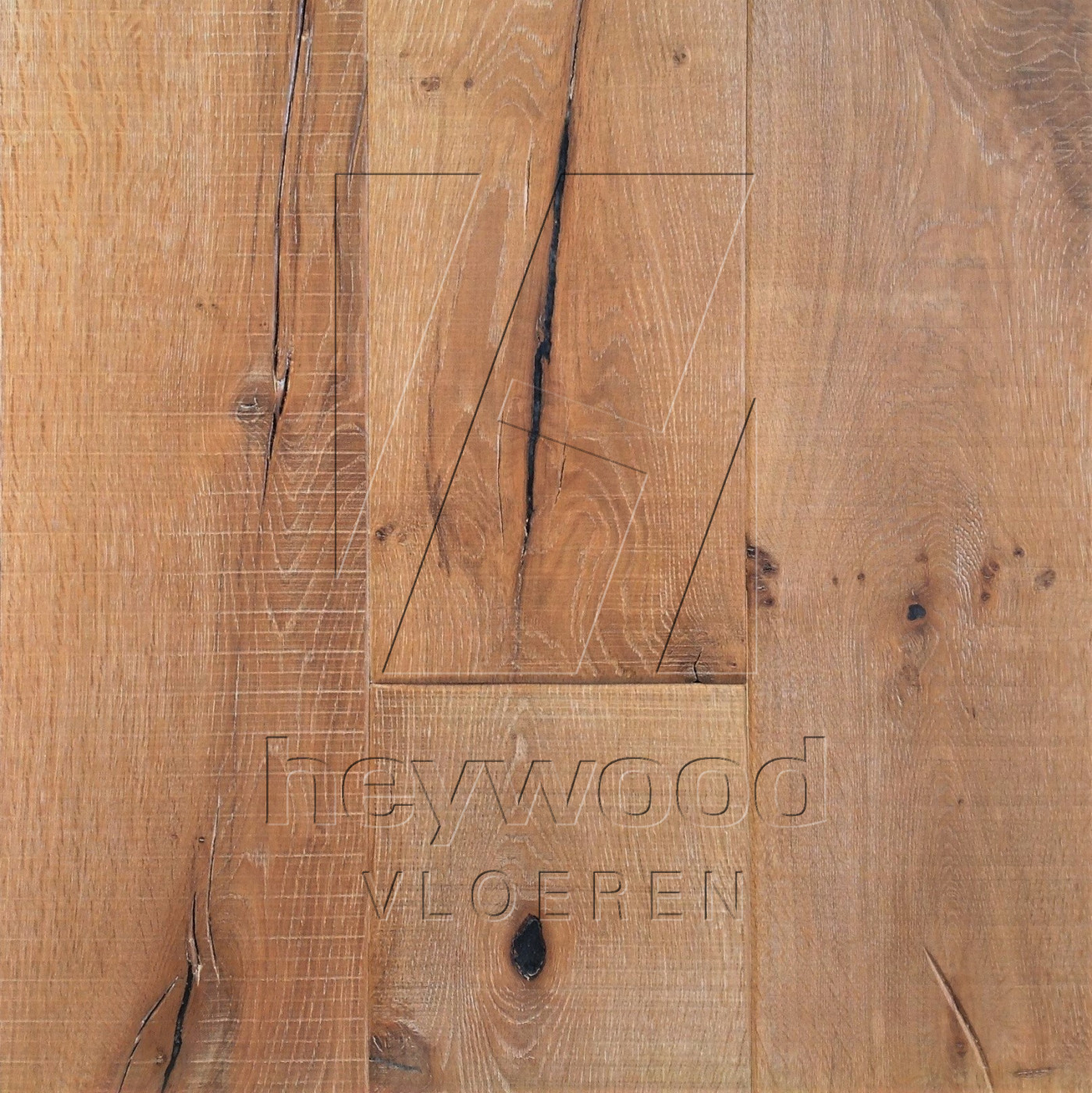 Knotting Hill Plank 'Dune' in Aged Knotting Hill Surface of Aged Hardwood Floors