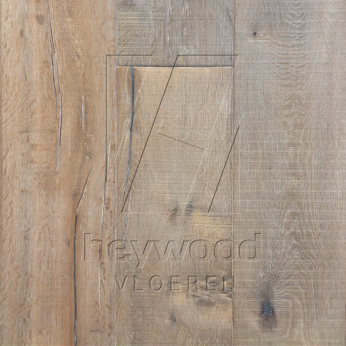 Knotting Hill Plank Gotland in Aged Knotting Hill Surface of Aged Hardwood Floors
