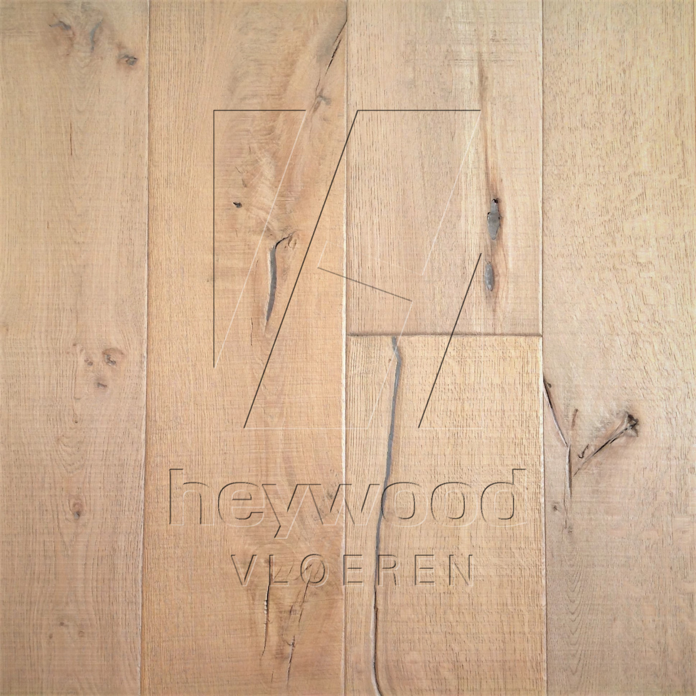 Knotting Hill Plank 'Lyngmark' in Aged Knotting Hill Surface of Aged Hardwood Floors