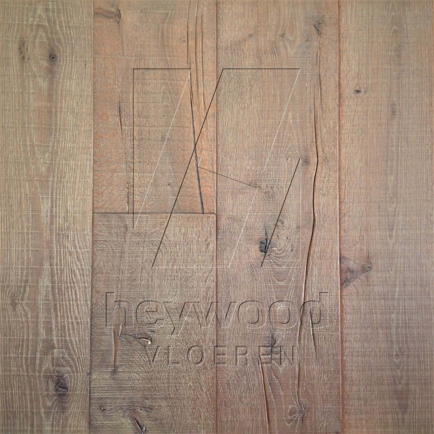 Knotting Hill Plank 'Patagonia' in Aged Knotting Hill Surface of Aged Hardwood Floors
