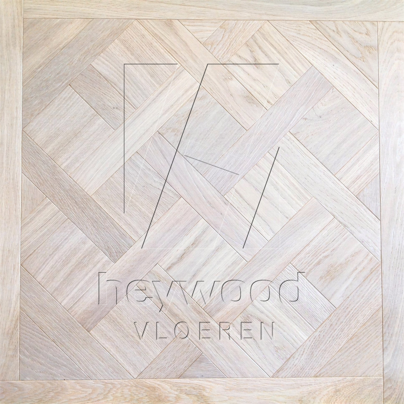 Versailles Nordic White (Brushed) in Panels of Pattern & Panel Floors