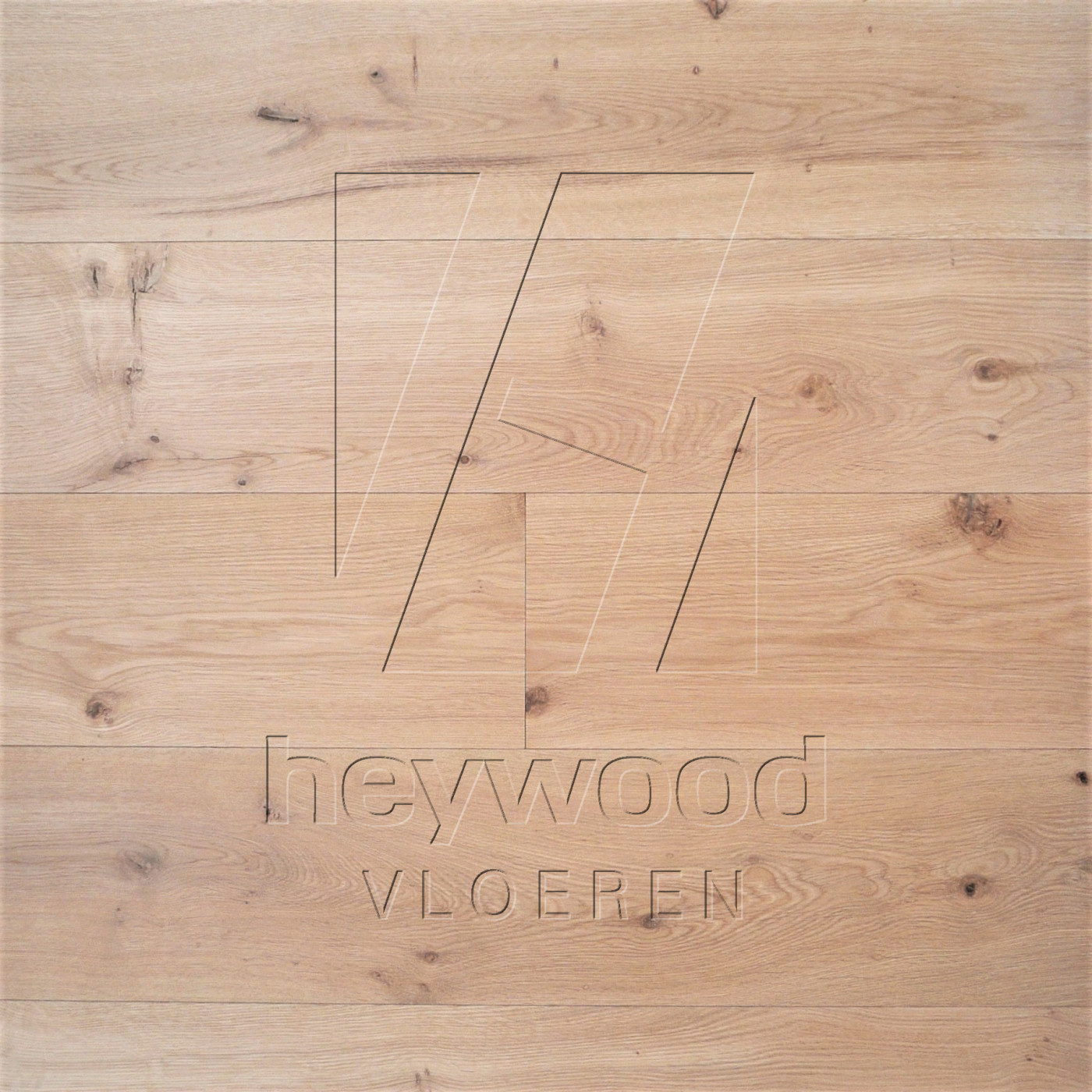 Character Plank Virgin (invisible look) in European Oak Character of Bespoke Wooden Floors