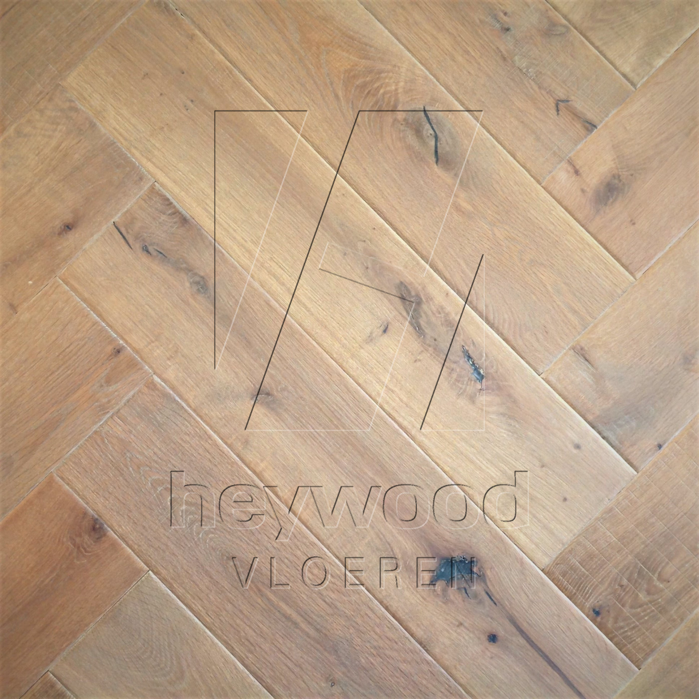 Shrunk Herringbone 'Vanoise' in Herringbone of Pattern & Panel Floors
