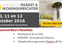 Heywood op Vakdagen Parket & Woninginrichter 2016