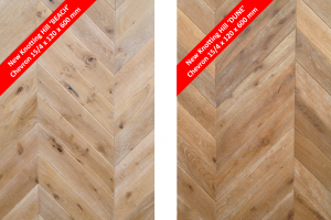 Introducing two new Aged Oak designs: Knotting Hill 'Beach' and 'Dune'