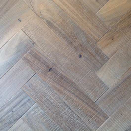 NLH 'Morning Dew' Slatewood Herringbone