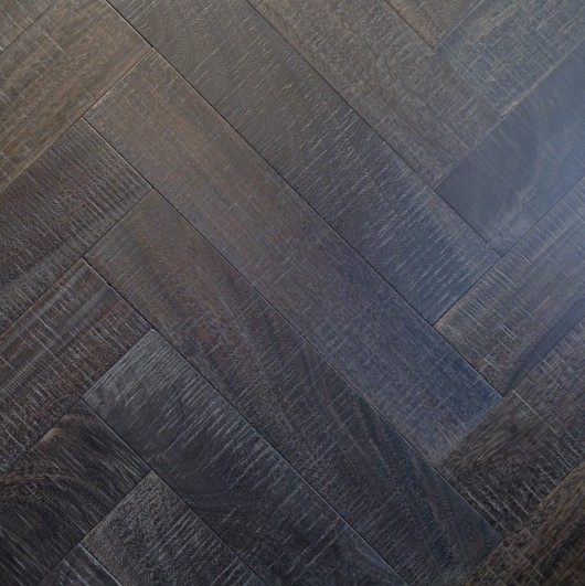 NLH 'Midnight' Slatewood Herringbone